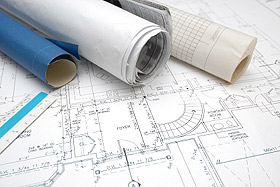 Blueprints for new Home Construction