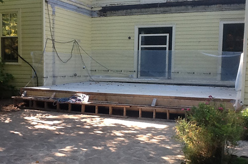 Reinforced Concrete Deck Insulated Elevated Decks